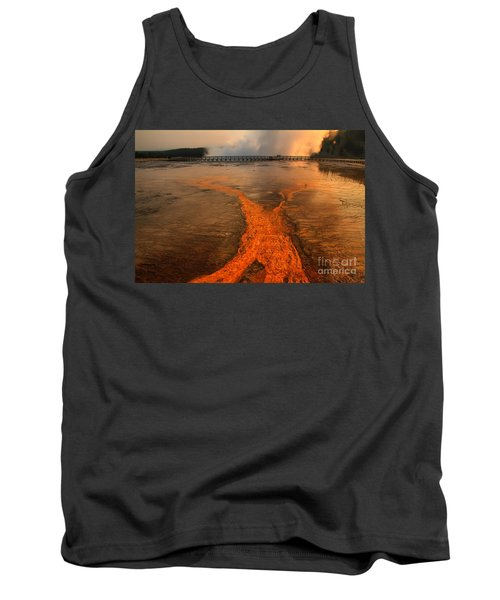 The Enchantment Of Grand Prismatic Spring Tank Top