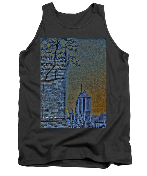 The Encroachment Upon Art Tank Top