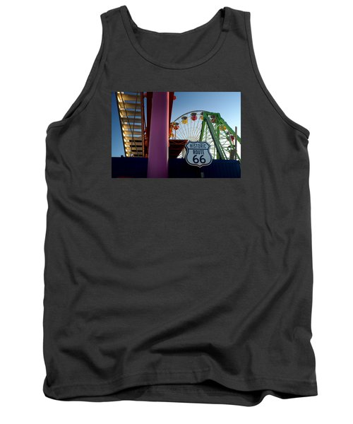 The End Of Route 66 1 Tank Top