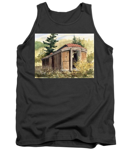 The End Of The Line Tank Top