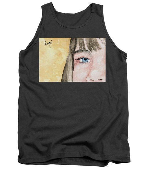 The Eyes Have It - Bryanna Tank Top by Sam Sidders