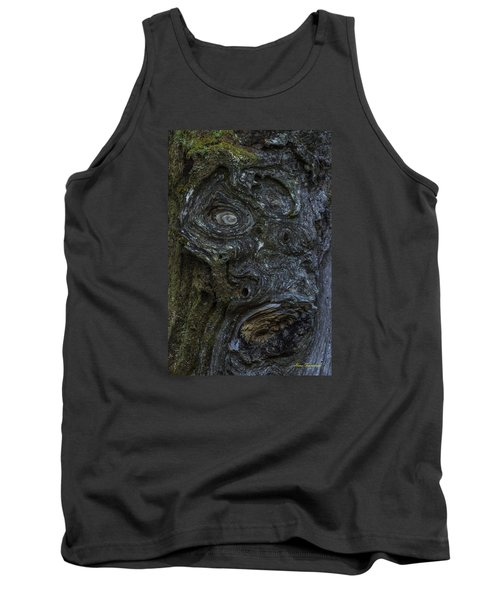The Face Signed Tank Top