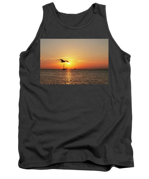 The Famous Key West Sunset  Tank Top