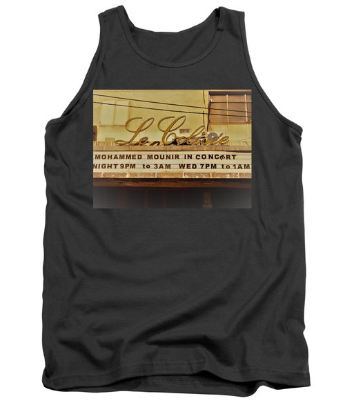 The Famous Le Colisee Cinema In Beirut Tank Top