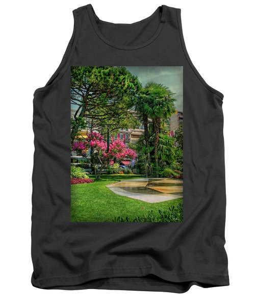 Tank Top featuring the photograph The Fancy Swiss South-west by Hanny Heim