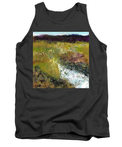 The Farmers Ditch Fall Tank Top by Frances Marino