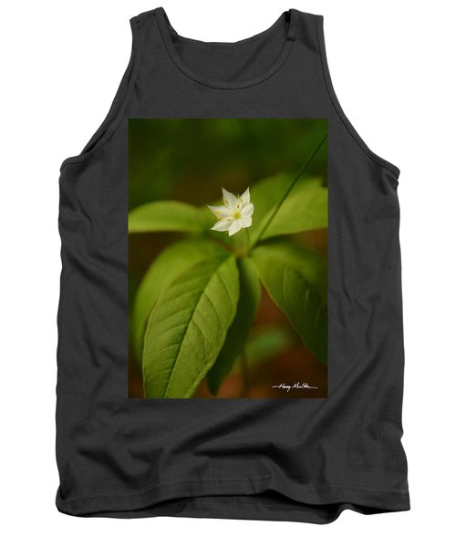 The Flower Of The Dark Woods Tank Top