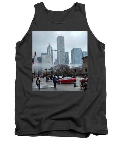 The Fog Lifts On Michigan Avenue Tank Top