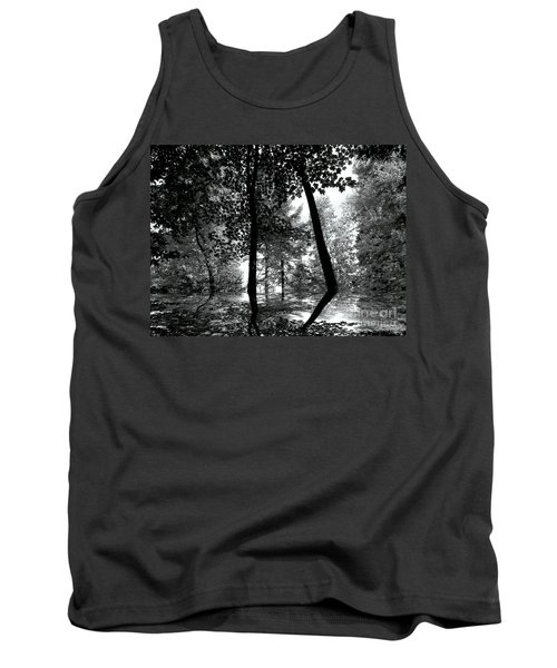 Tank Top featuring the photograph The Forest by Elfriede Fulda