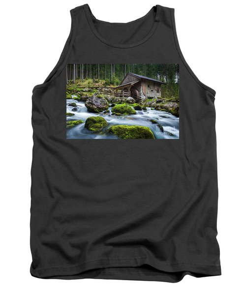 The Forgotten Mill Tank Top by JR Photography