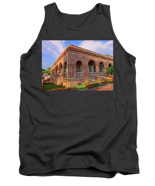 Tank Top featuring the photograph The Former British Consulate In Kaohsiung In Taiwan by Yali Shi