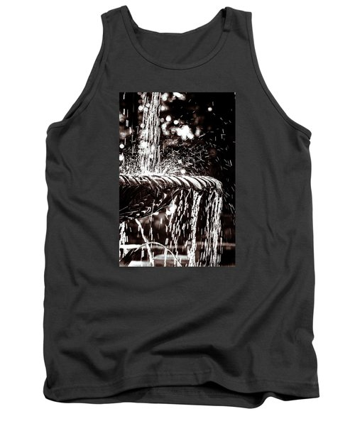 Tank Top featuring the photograph The Fountain by Wade Brooks