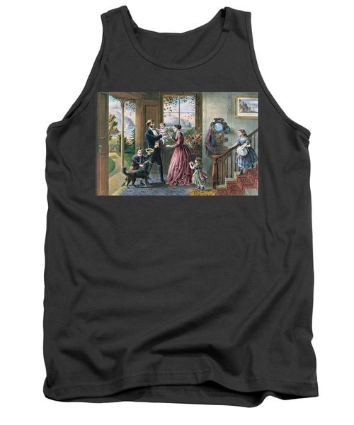The Four Seasons Of Life  Middle Age Tank Top