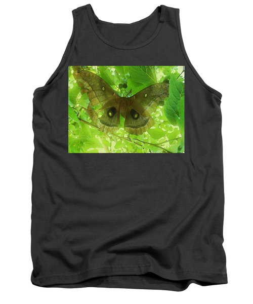 Tank Top featuring the digital art The Fourth Day-a Dying Giant.. by Shelli Fitzpatrick