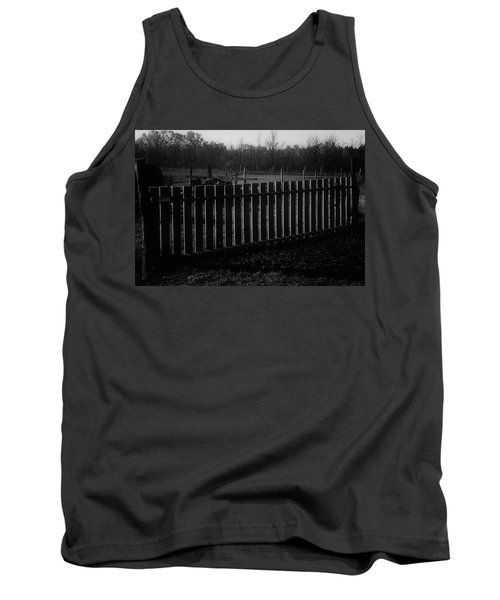Tank Top featuring the photograph The Gardengate by Mimulux patricia no No