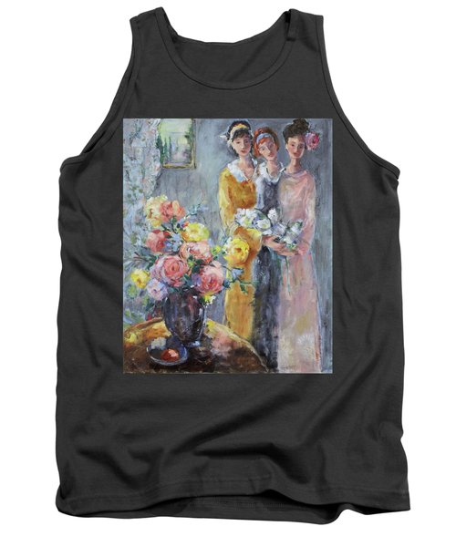 The Gathering Tank Top by Sharon Furner