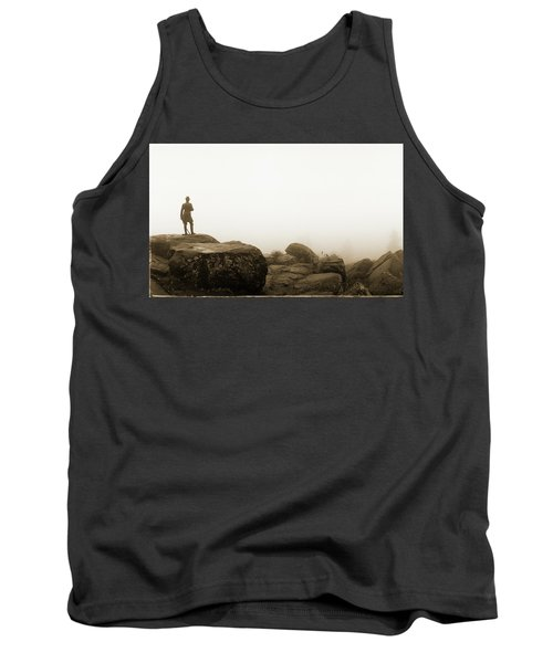 The General's View Tank Top by Jan W Faul