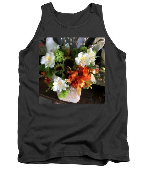 Tank Top featuring the photograph The Gift Of Giving by Peggy Stokes