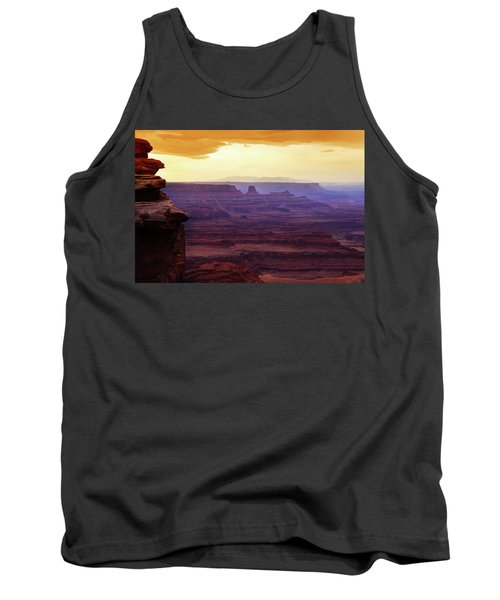 The Gold Light Of Dawn Tank Top