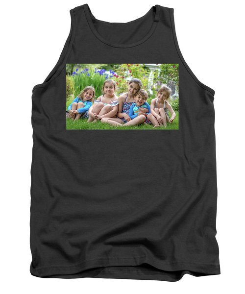 The Grand Kids In The Garden Tank Top