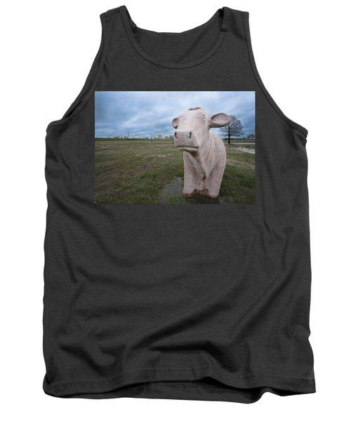 The Granite Cow Tank Top