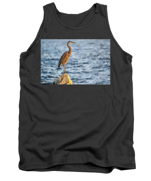 The Great Blue Heron Tank Top