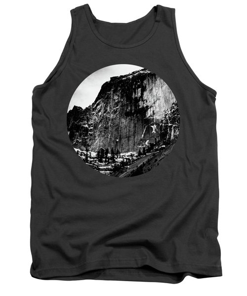 The Great Wall, Black And White Tank Top by Adam Morsa
