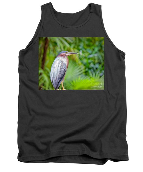 The Green Heron Tank Top