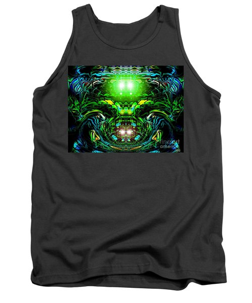 The Green Line Tank Top