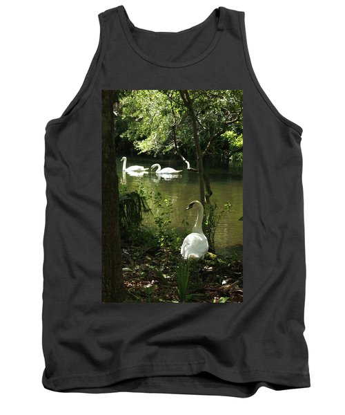 The Guard Swan Tank Top