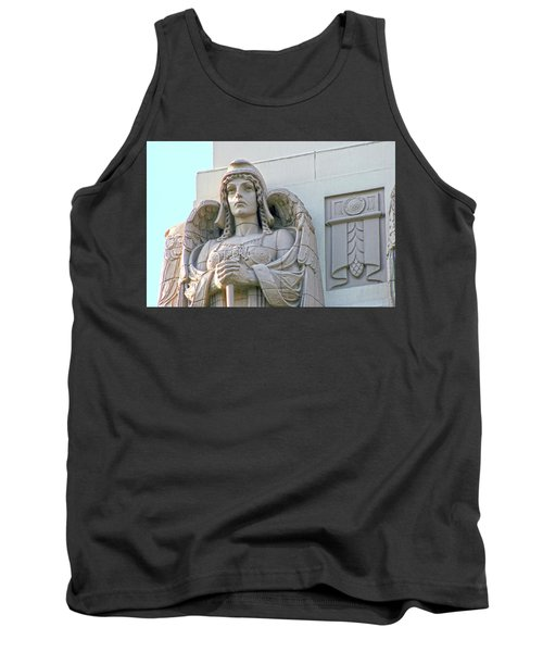 The Guardian Angel On Watch Tank Top