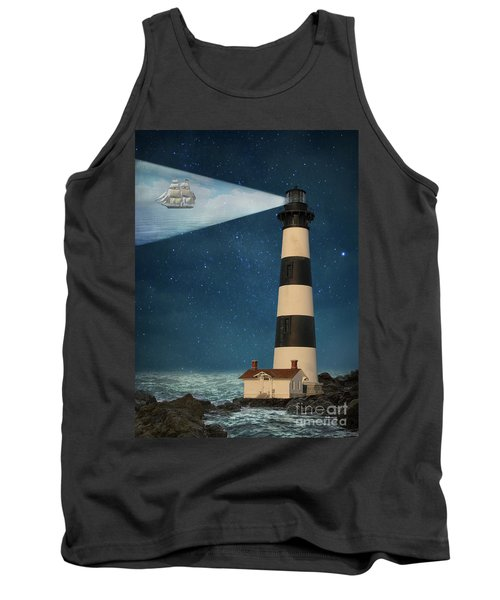 Tank Top featuring the photograph The Guiding Light by Juli Scalzi