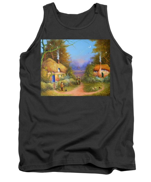 The Hamlet Of Gnarl Mid Summers Eve Tank Top