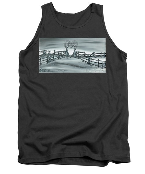 Tank Top featuring the painting The Heart Of Everything by Kenneth Clarke