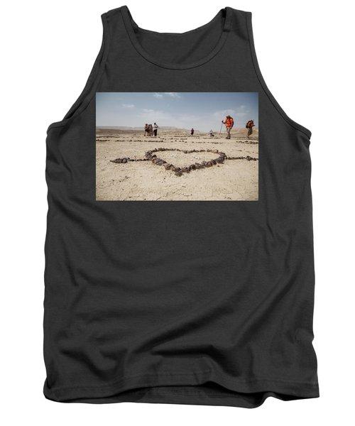 The Heart Of The Desert Tank Top by Yoel Koskas