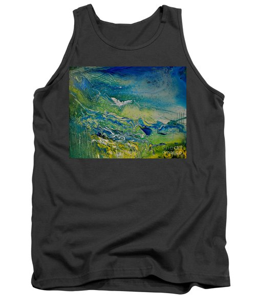The Heavens And The Eart Tank Top