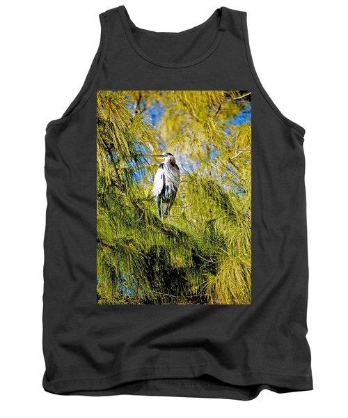 The Heron's Whiskers Tank Top