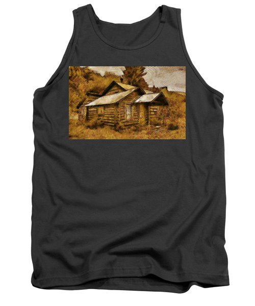 The Hillbilly Cabin Tank Top