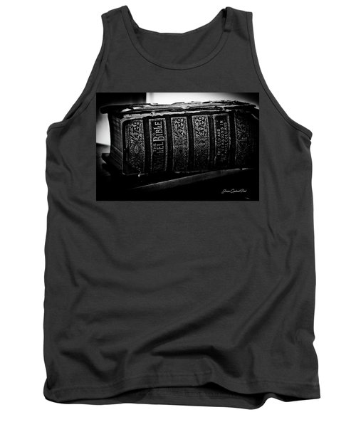 The Holy Bible Tank Top by Joann Copeland-Paul