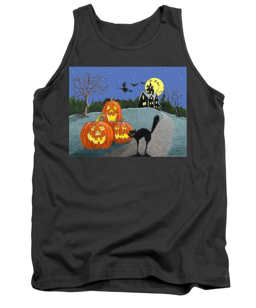 The House On Cemetery Hill Tank Top