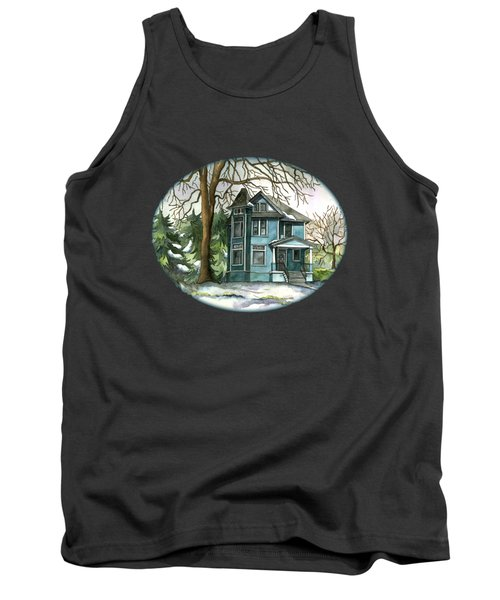 The House Under The Big Tree Tank Top