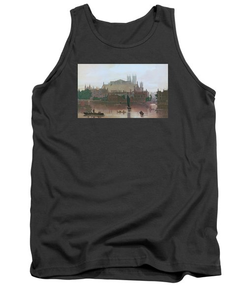 The Houses Of Parliament Tank Top by George Fennel Robson