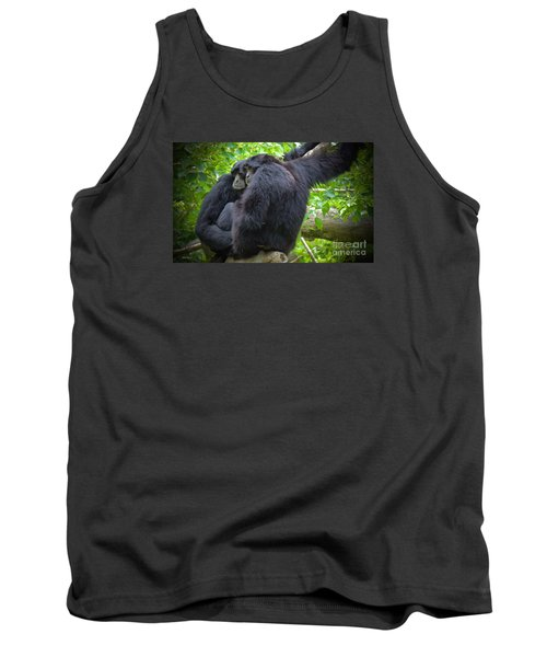 Tank Top featuring the painting The Huddle by Judy Kay