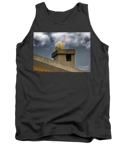 The Hunt Goes On Tank Top by Al Bourassa