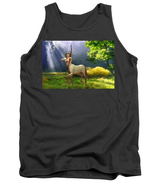 The Hunter Tank Top by John Edwards