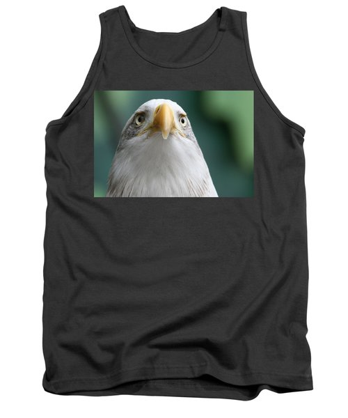 Tank Top featuring the photograph The Hunters Stare by Laddie Halupa
