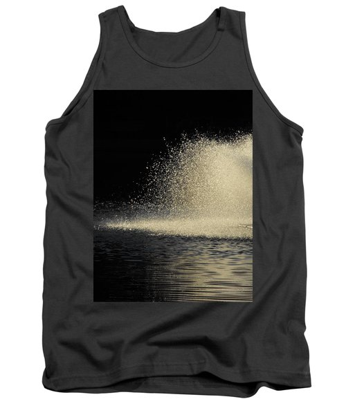 The Illusion Of Dark And Light With Water Tank Top