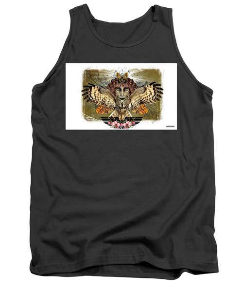 The Illusion Was Exposed Tank Top by Paulo Zerbato