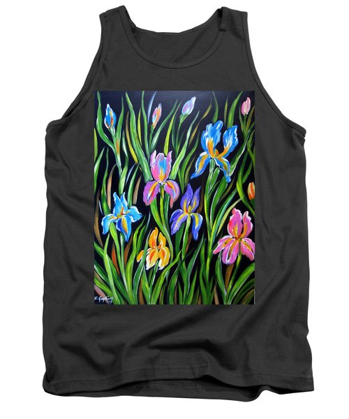 The Irises Tank Top