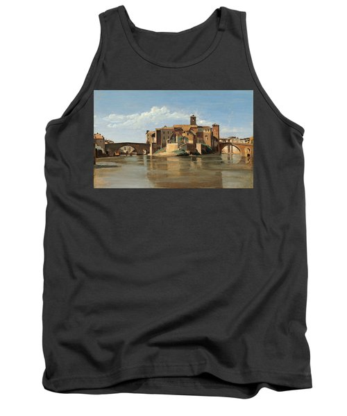 The Island And Bridge Of San Bartolomeo Tank Top